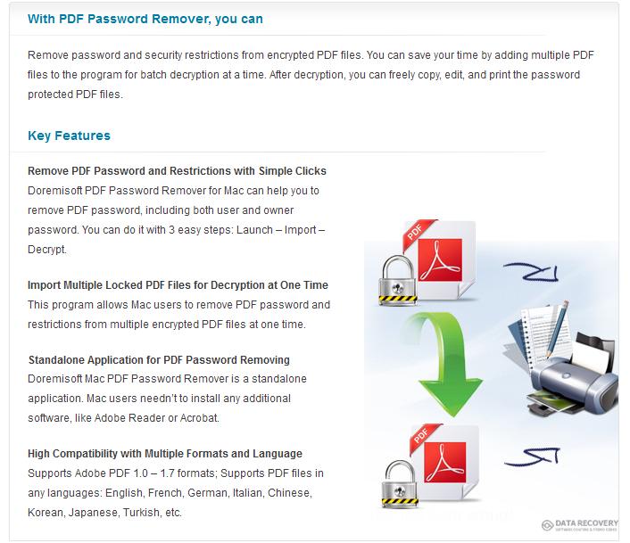Doremisoft Mac PDF Password Remover Discount Coupon Code