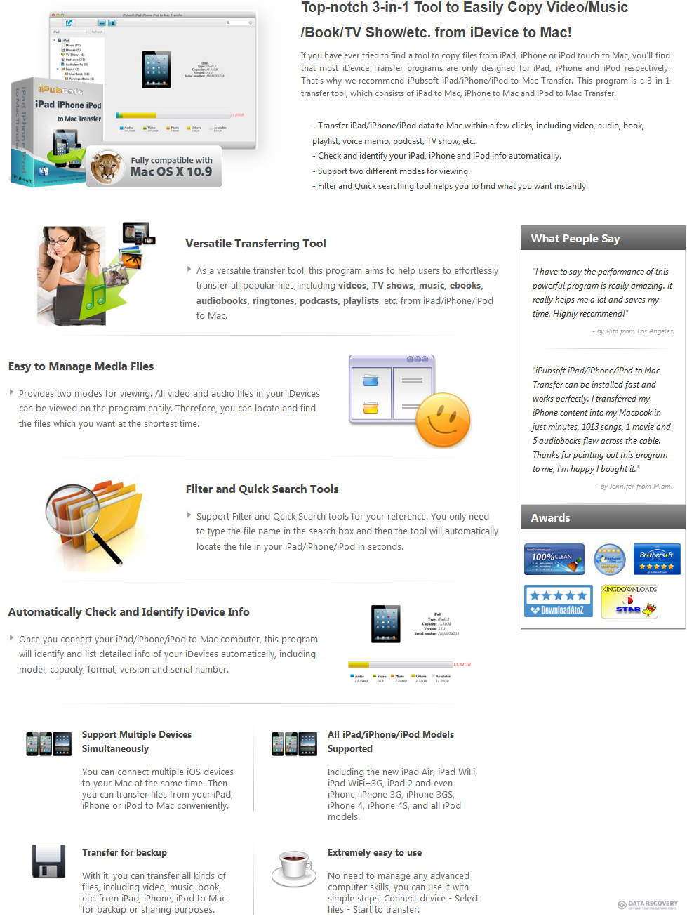 iPubsoft iPad/iPhone/iPod to Mac Transfer Discount Coupon Code