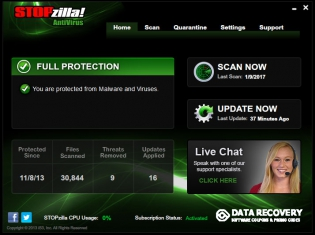 30% Off - STOPzilla Antivirus Discount Coupon Code