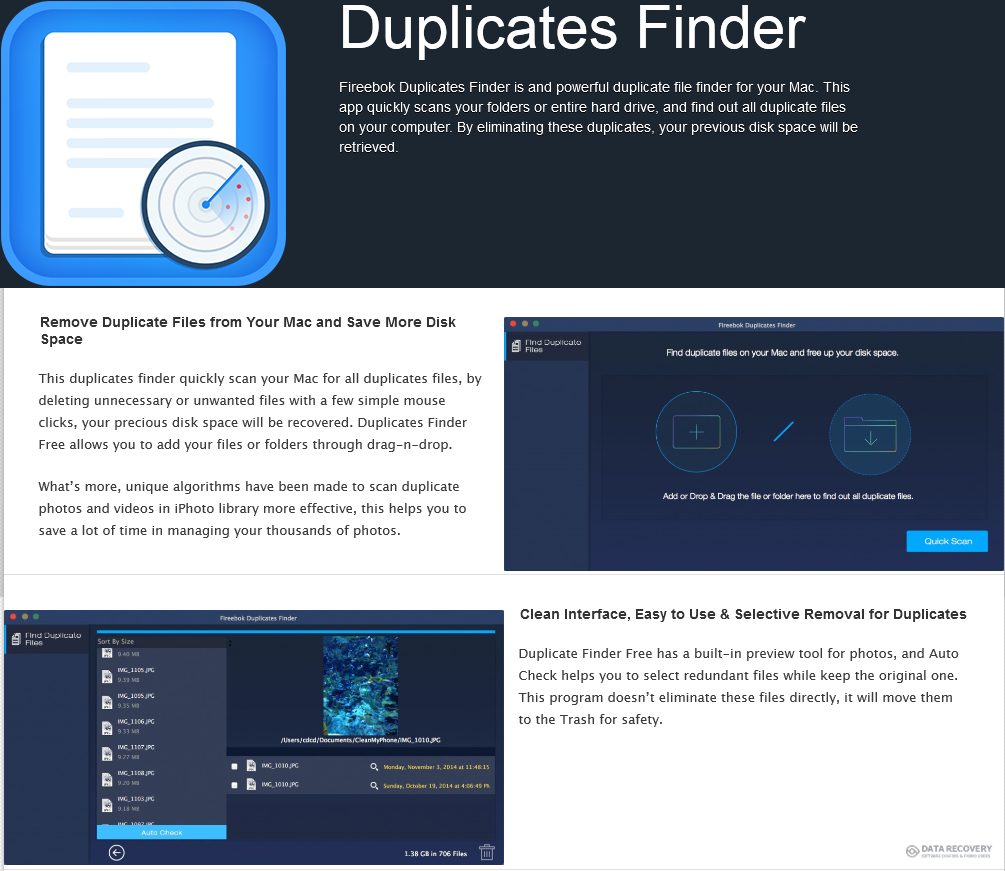 Fireebok Duplicates Finder Discount Coupon Code