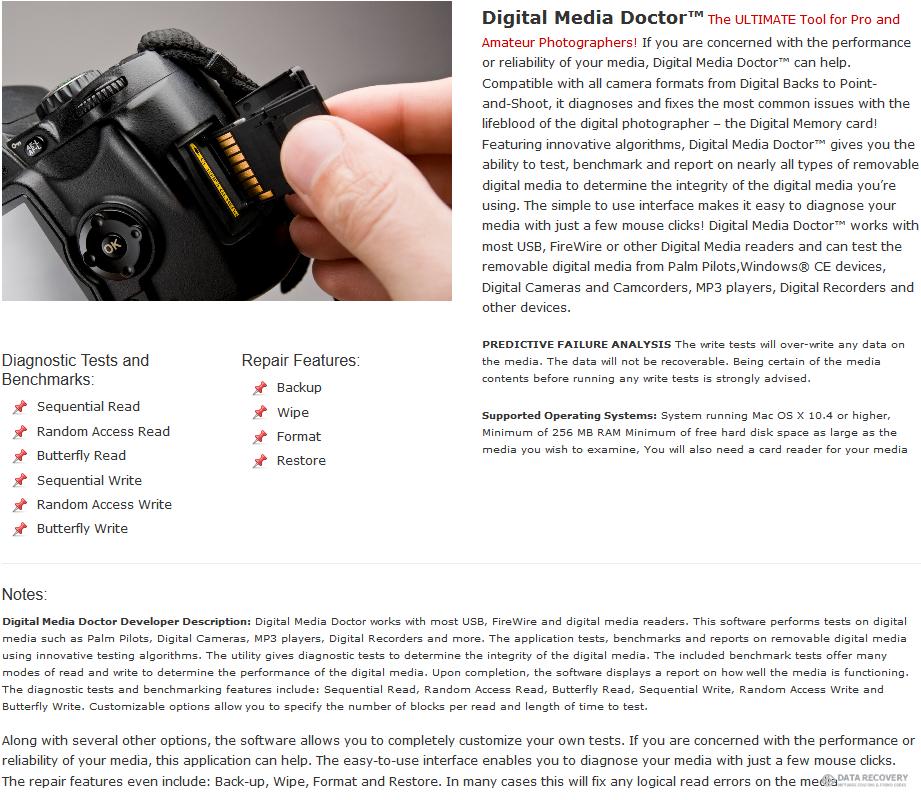 Digital Media Doctor 3.1 for Mac Discount Coupon Code