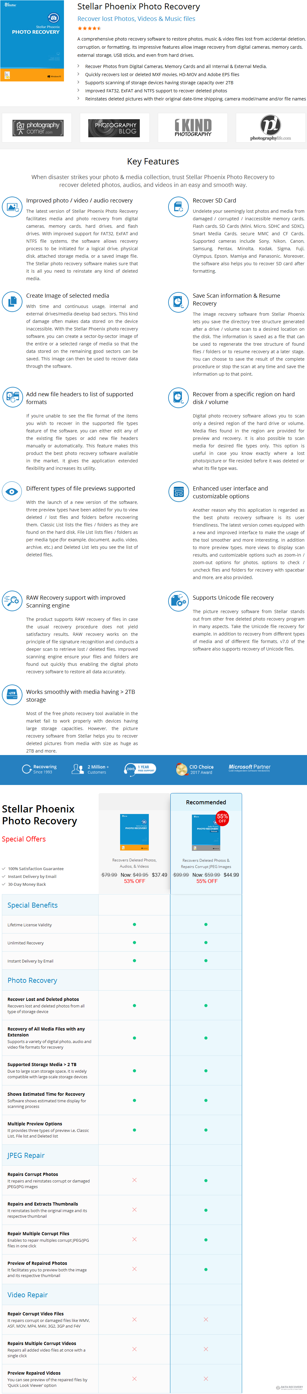 Stellar Phoenix Photo Recovery (Windows) Discount Coupon Code
