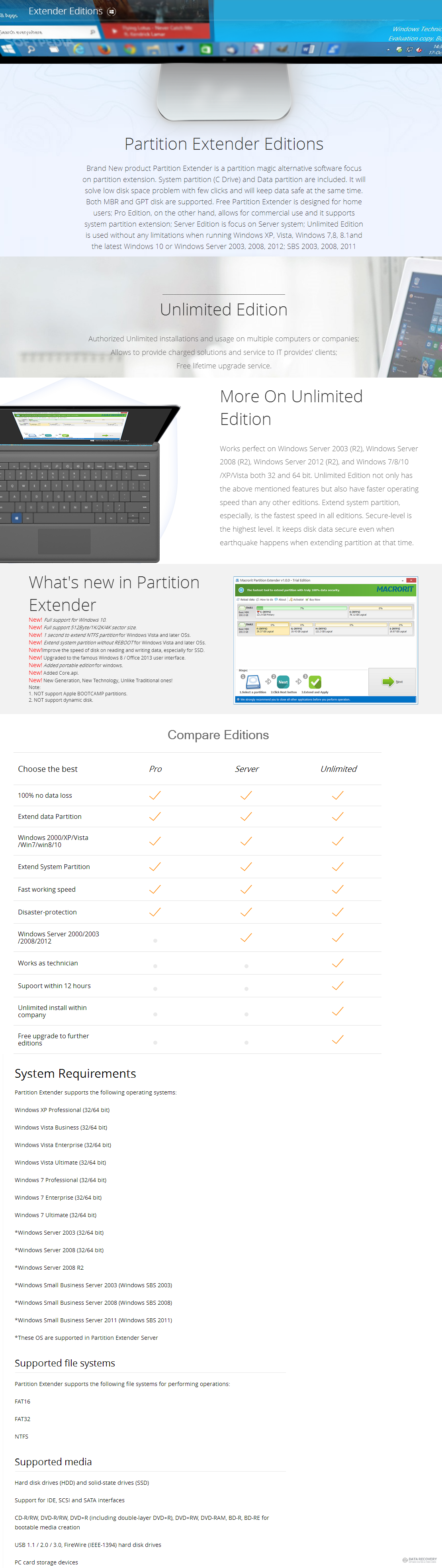 Macrorit® Partition Extender Unlimited Edition Discount Coupon Code