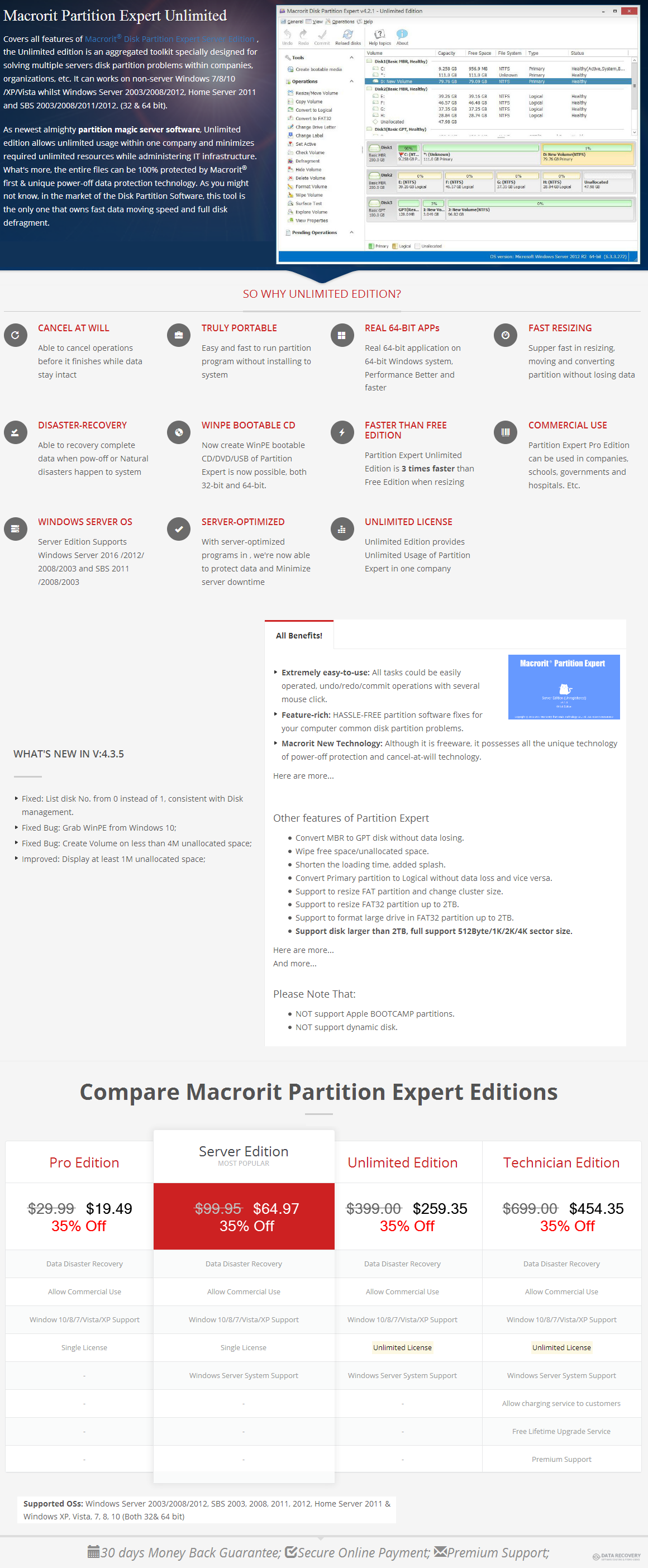 Macrorit Partition Expert Unlimited Edition Discount Coupon Code