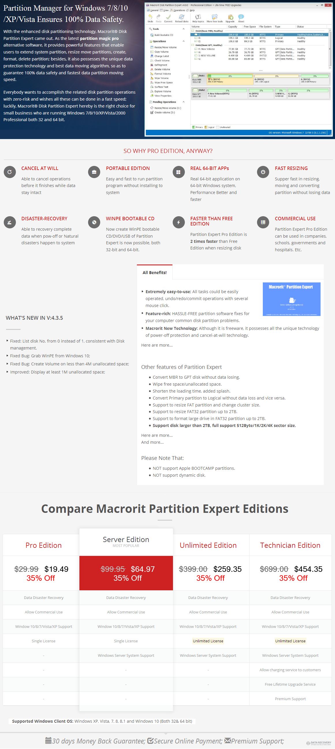 Macrorit Disk Partition Expert Pro Edition Discount Coupon Code