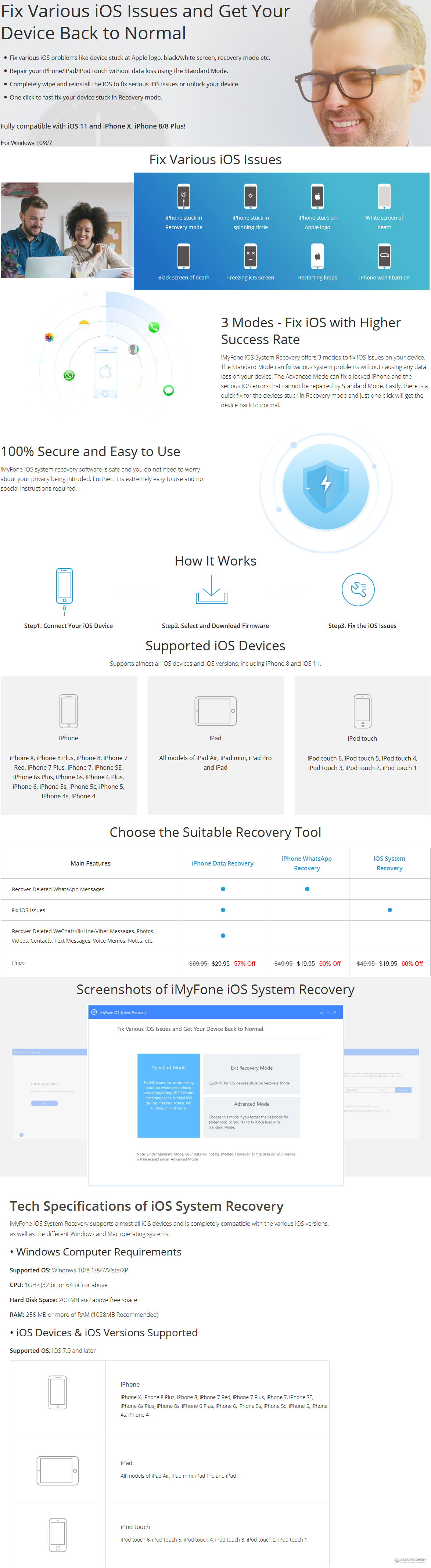 iMyfone iOS System Recovery for Windows Discount Coupon Code