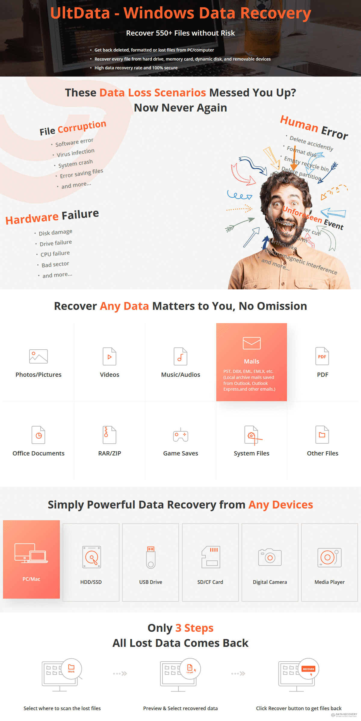 Tenorshare UltData Windows Data Recovery Discount Coupon Code