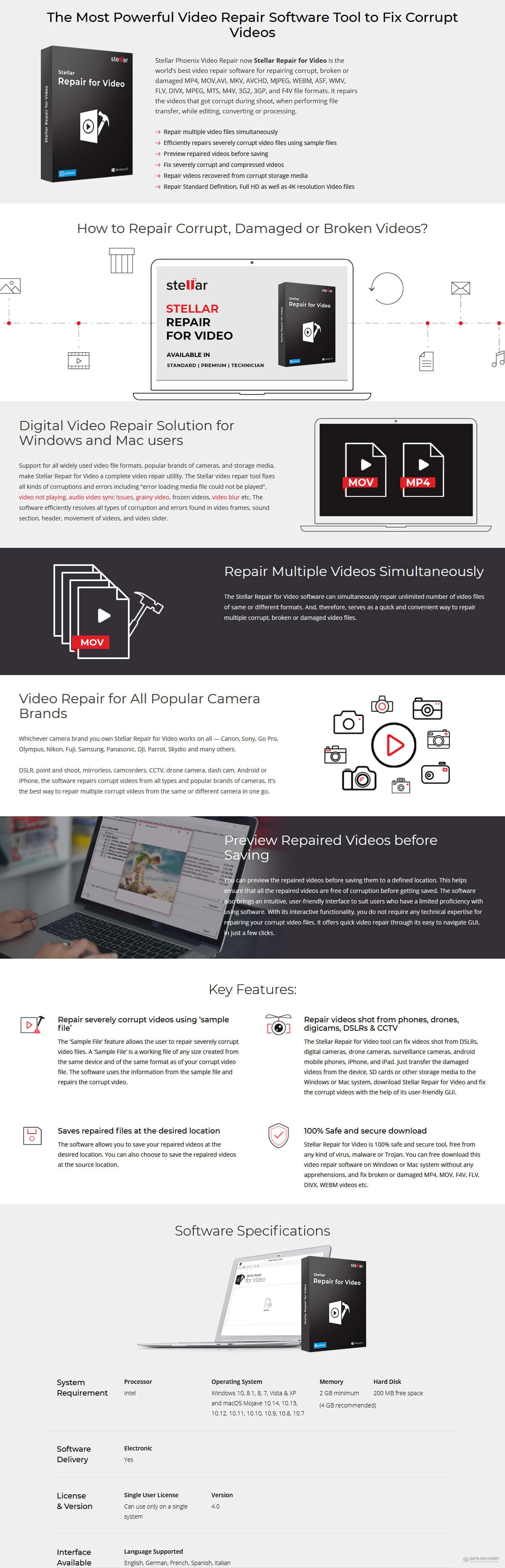 Stellar Repair for Video Discount Coupon Code