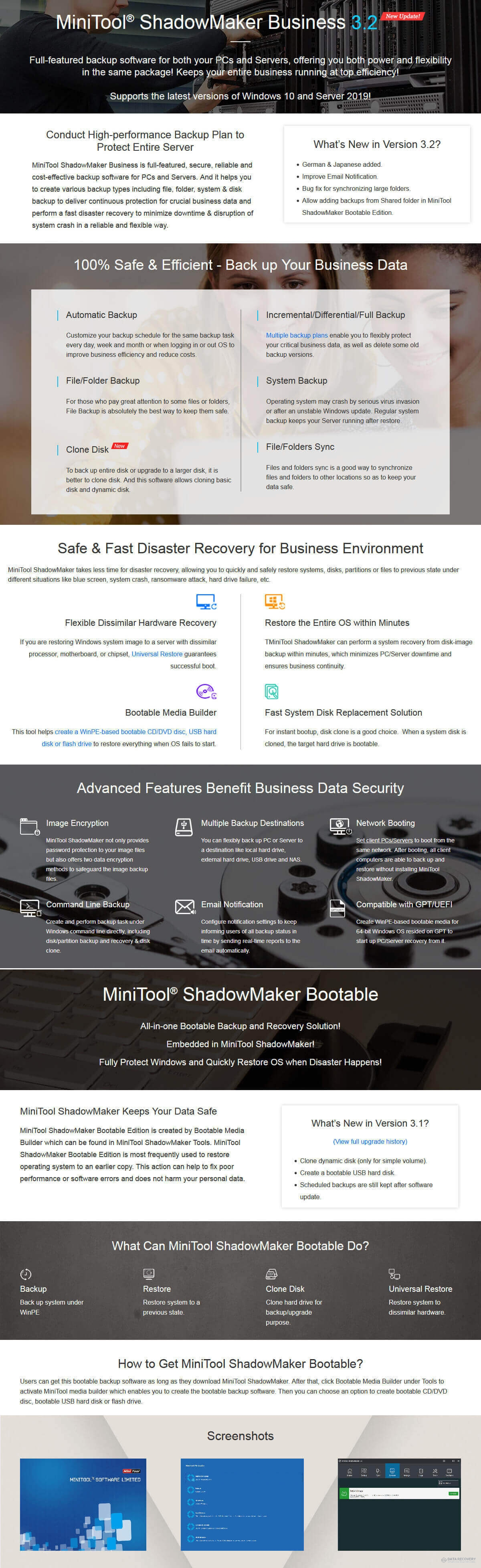 MiniTool ShadowMaker Business Discount Coupon Code